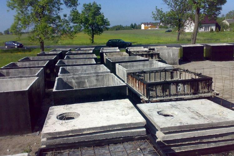 Szamba betonowe - warmińsko-mazurskie